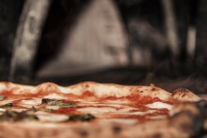 Tutta Bella Neapolitan Pizzeria - Steaming Margherita Fresh Out of the Oven